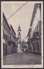 NOVARA CARPIGNANO SESIA 31 Via DANTE Cartolina viaggiata 1948