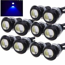 10x Blue 12V 9W Eagle Eye LED DRL Rock Light JEEP ATV Offroad Baja Truck Lights
