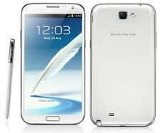 Blanco 5.5'' Samsung Galaxy Note2 SGH-T889 2GB RAM 16GB 8MP Libre Telefono Movil