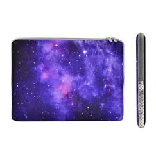 "Purple Galaxy Graphic Zipper Sleeve Bag for 13"" Macbook / Air / Pro / Chromebook"
