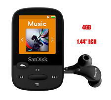 SanDisk Sansa Clip Sport Black (4GB) Digital Media Player - Genuine NEW in a box