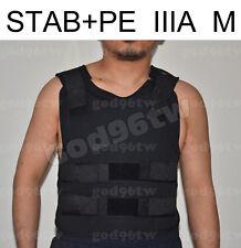 STAB+ PE Bullet Proof Vest/Jacket Body Armor NIJ Level IIIA 3A 38 Layers M