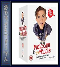 MALCOLM IN THE MIDDLE - COMPLETE COLLECTION - SEASONS 1 -7   **BRAND NEW DVD **