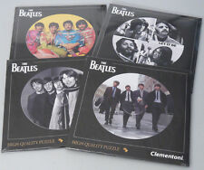 (PRL) THE BEATLES 4 FAB PUZZLE TOY 212 PZ REAL LP SIZE COLLECTION PHOTO FOTO LOT
