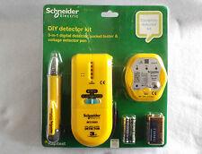 SCHNEIDER ELECTRIC DIY COMPLETE DETECTOR KIT 3 IN 1 RAPITEST