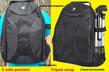FULL SIZE PADDED BACKPACK CASE BAG fit CAMERA NIKON P500 P510 P520 P530 D3300