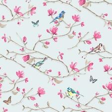 HOLDEN DÉCOR KIRA BIRD BUTTERFLY PATTERN FLORAL FLOWER MOTIF WALLPAPER ROLL BL-P