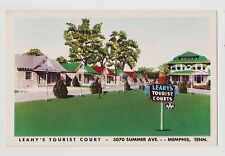 Memphis,TN.Leahy's Torist Court,Shelby County,Roadside America,c.1940s