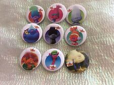Party Bag Fillers X 12 TROLLS BADGES