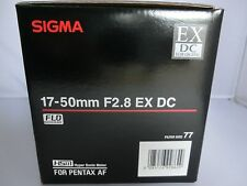 Brand  NEW  Sigma 17-50 mm F2.8 EX DC  HSM Lens for Pentax K mount, APS-C size