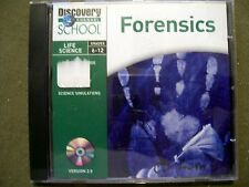 Discovery Channel School Life Science Grades 6-12 Forensics Version 2.0 CD-Rom