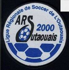 OUTAOUAIS REGIONAL ASSOCIATION QUEBEC FOOTBALL SOCCER JERSEY LOGO PATCH NEW