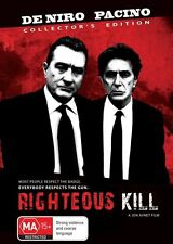 Righteous Kill Collectors Edition (2 Disc Set) *NEW & SEALED* DVD, FREE POSTAGE!