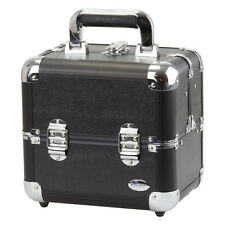 Blush Professional Black Aluminium Cosmetics and Make-up Beauty Case