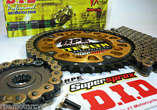 SUZUKI GSXR1000 '07/08 SUPERSPROX GOLD 530 DID CHAIN AND SPROCKETS * QUICK ACCEL