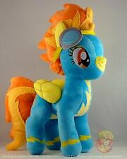 "Spitfire wonderbolt PELUCHE 12 "" / 30 cm My Little Pony Peluche UK STOCK alta qualità"