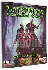 Dungeons & Dragons PLOT & POISON A GUIDEBOOK TO DROW 2002 GRR1103 D&D 3.0 d20