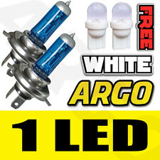 H4 55W SUPER WHITE XENON (472) HEADLIGHT BULBS 12V ULTRA BRIGHT BULBS XENNON