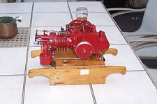 Bruner Air Compressor Model Hit and Miss Engine, Custom Built by George Lowman