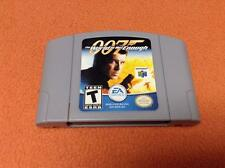 007 World is Not Enough Gray Grey Nintendo 64 N64 Super Fast Free Shipping!