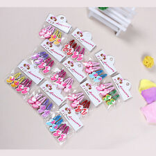 Magic Kids Girls Hair Clips Mixed Assorted Slides Hair Jewelry Random Pattern MO