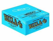 Rizla Blue King Size Slim Rolling Paper Box Of 50 Books