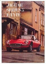 Jaguar E-Type Series 3 with Hardtop - Modern postcard by Vintage Ad Gallery