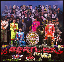 The Beatles Sgt. Pepper's  Photo Print 12x12""