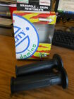 """NOS NEW Tommaselli Domino Road Grips 22 24 7/8"""" Bars Black 1367.82.40.06 Italy"""