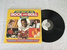VERY BEST OF THE ROCK AND ROLL YEARS 1981 NEW ZEALAND PRESS LP
