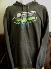 FOX RACING HOODIE-LARGE.  FOX MX RACING/MOTO X- SUZUKI-KAWASAKI-YAMAHA-HONDA