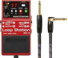 New Boss RC-3 Loop Station Guitar Pedal! FREE Boss 10 Foot Cable!