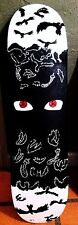 Crows - Hand Painted Skateboard - Itachi Naruto Sharingan Skate Art