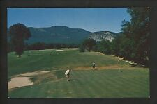 Sports Golf postcard North Conway, New Hampshire NH Course Moat Mountain