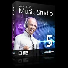 Ashampoo Music Studio 5 dt.Vollvers.ESD Download 9,99 statt 29,99 EUR !!