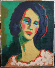 SIGNED FRENCH OIL PAINTING IN THE STYLE OR AFTER KEES VAN DONGEN. C.1968.
