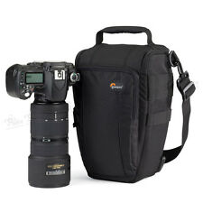 Lowepro Toploader Zoom 55 AW DSLR Camera Holster Shoulder Bag Case & Rain Cover