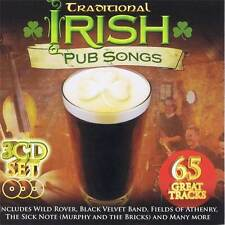 Traditional Irish Pub Songs 65 Great Tracks Box Set Audio CD Various Music
