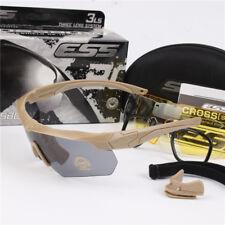03fcbbbdd6b ESS Crossbow Ballistic Goggles Tactical Military Tr90 Polarized Sunglasses  Kit 3