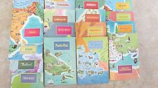 16 AMERICAN GEOGRAPHICAL SOCIETY - Around the World Program w/Stereo View Cards