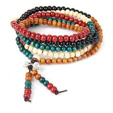 6mm 216pcs Sandalwood Beads Buddha Buddhist Hindu Mala Prayer Bracelet Necklace
