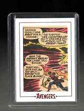 Marvel The Avengers  Silver Age  Archive Cuts AV51 card 17/190