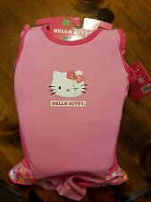 Hello Kitty Swim Trainer Swimsuit M/L 33-55 lbs New pink