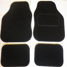 Black trim and Black car mats for TOYOTA YARIS AVENSIS AYGO CELICA COROLLA IQ