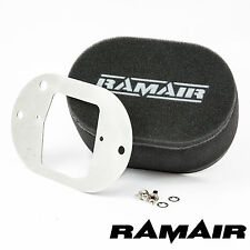 RAMAIR Carb Air Filters With Baseplate Weber 32/34 DFT 100mm Bolt On