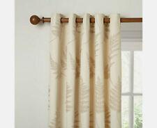 """John lewis chenille fern oeillet rideaux-naturel - 66""""W x 90""""D/167cm x 228cm"""
