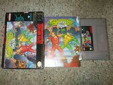 Battletoads & Double Dragon Ultimate Team (Super Nintendo SNES) Complete GOOD