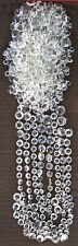 600+ VINTAGE EUROPEAN CRYSTAL GLASS PRISM CHANDELIER/SCONCE PARTS LOT # 6