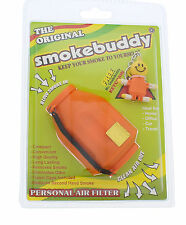 Smoke Buddy Original Personal Air Purifier Cleaner Filter Removes Odor - Orange