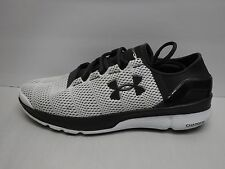 Under Armour Size 11 White Gray Speed Foam Running Sneakers New Mens Shoes